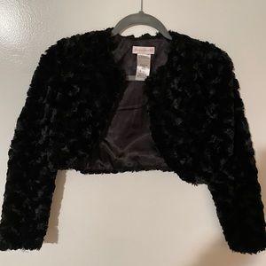 Black Faux Fur Jacket